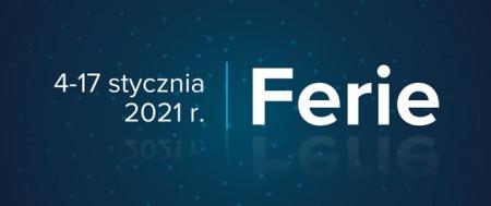 Ferie 2021 - Ministerstwo Edukacji i Nauki