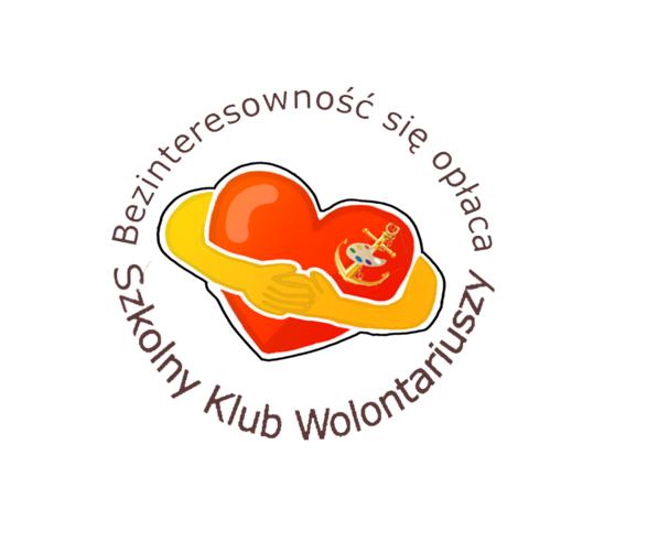 Logo Szkolnego Klubu Wolontariusza