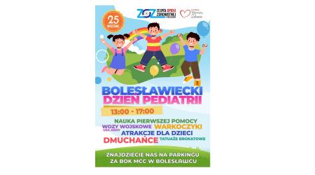 Bolesławiecki Dzień Pediatrii - zaproszenie